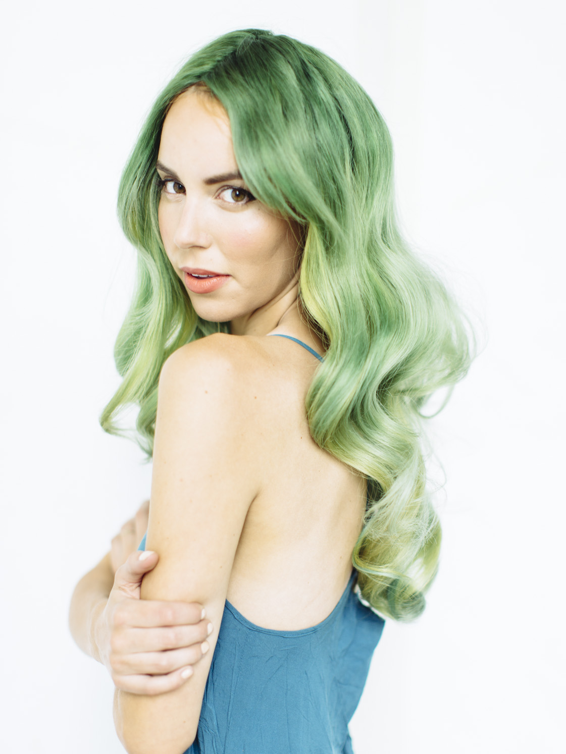 Aubrey Nelson, hair painter