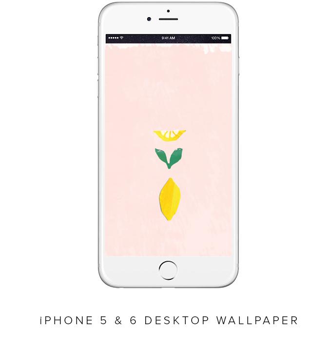 LEMON WALLPAPER FOR IPHONE