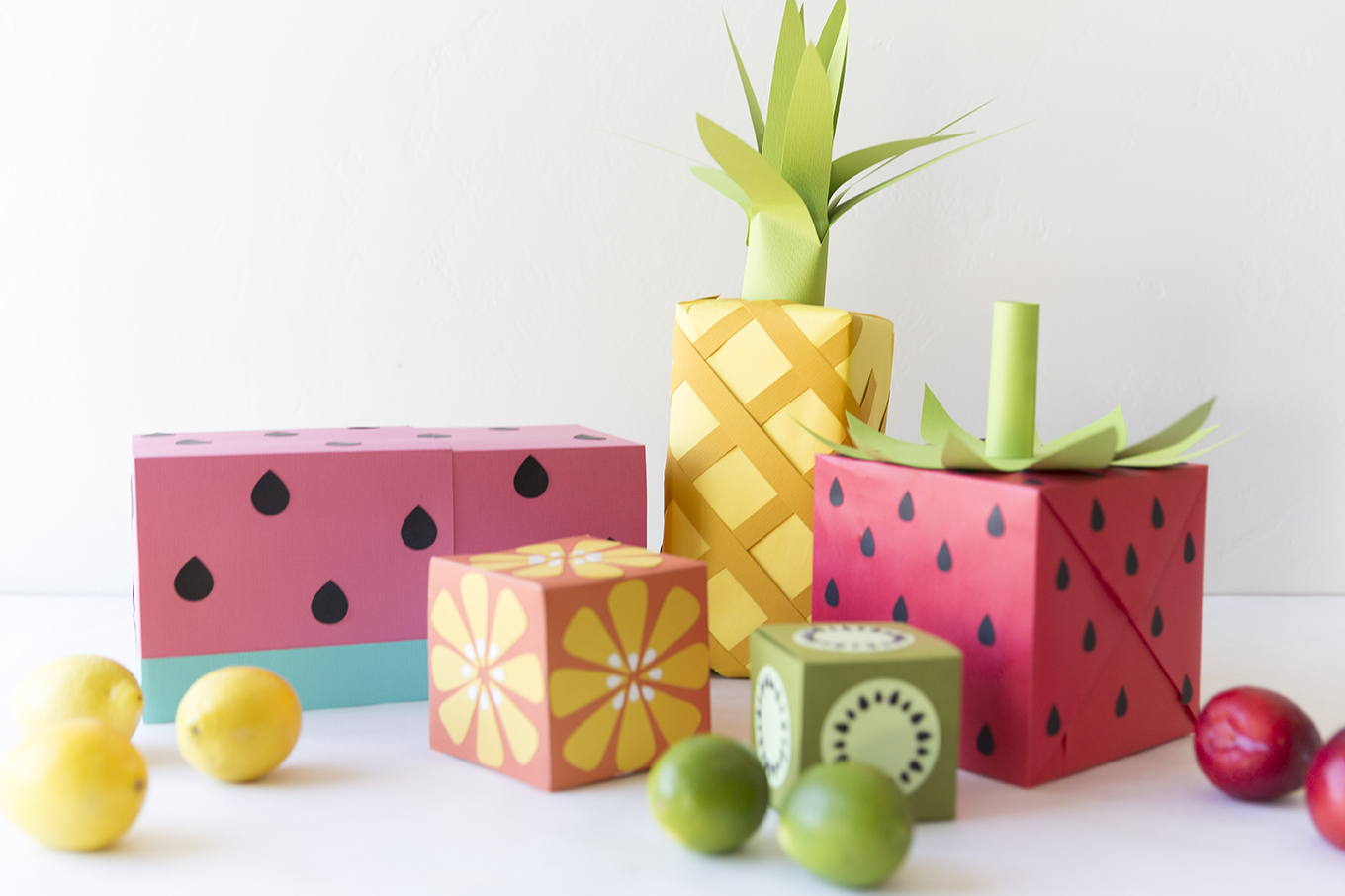 Fruit Wrapping Paper The House That Lars Built