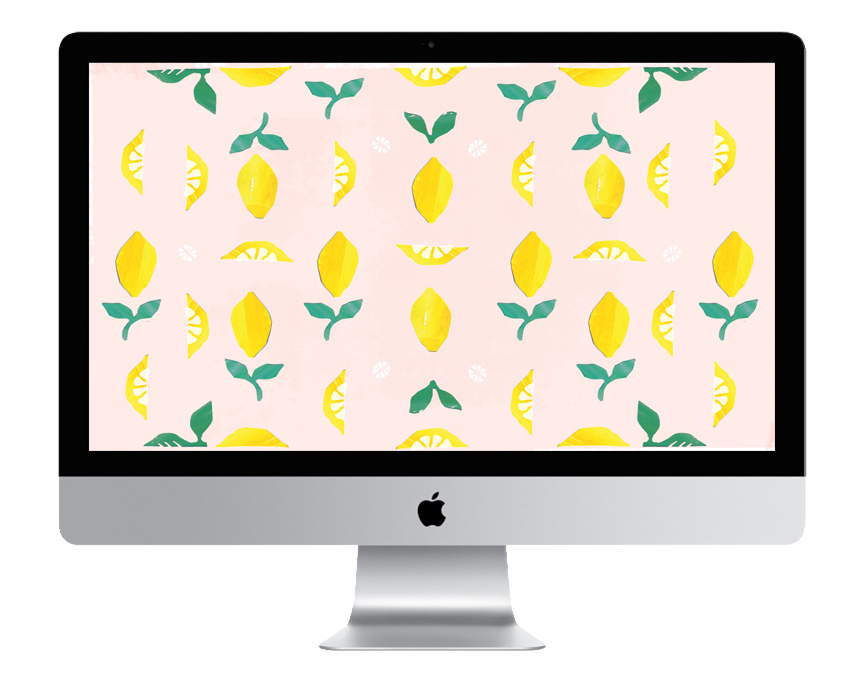 lemon desktop wallpaper