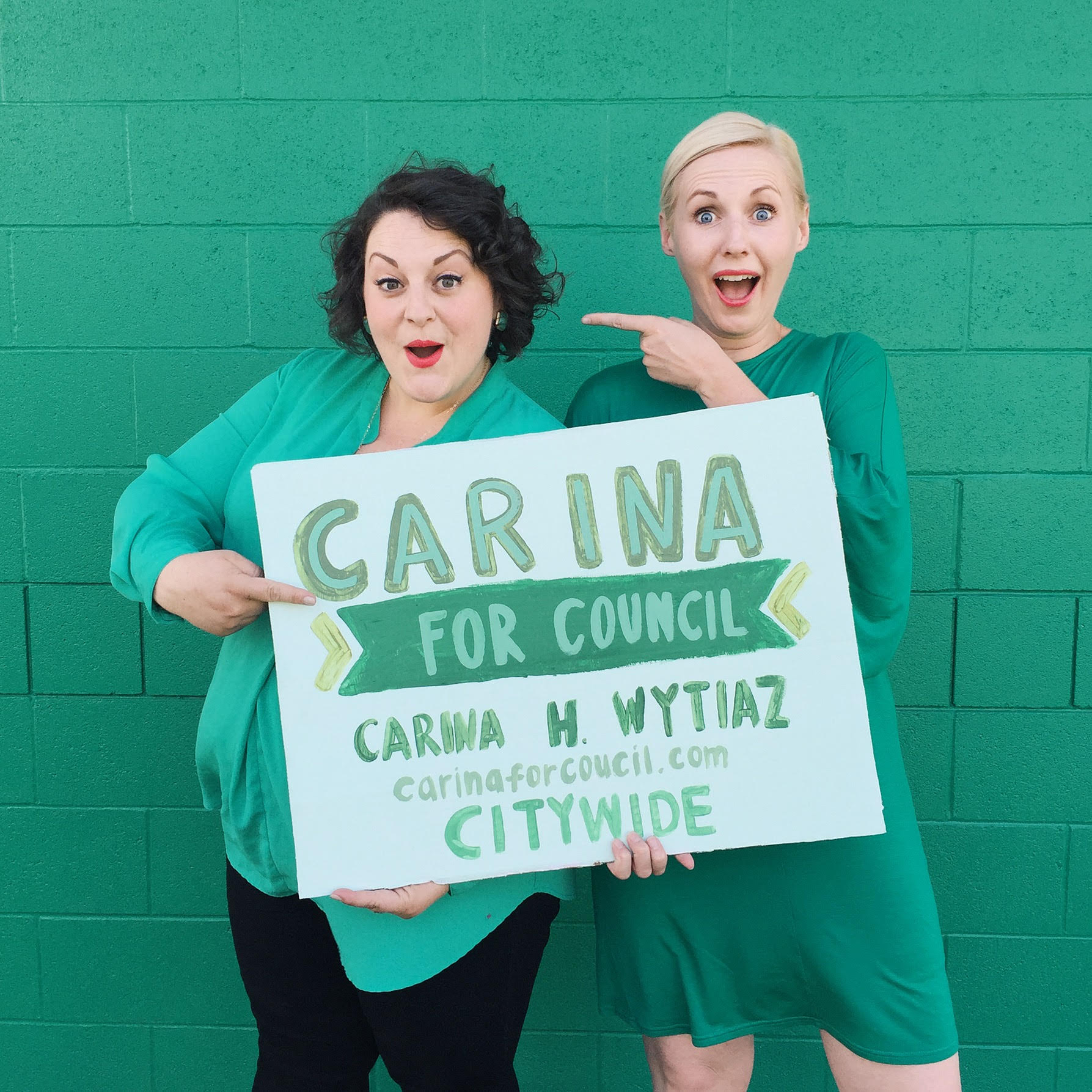 Carina Wytiaz for City Council