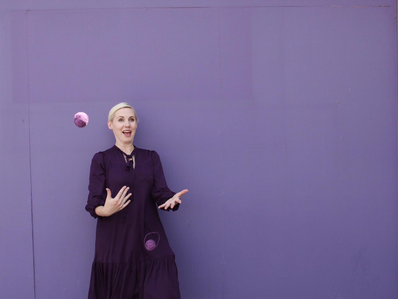 I can't juggle