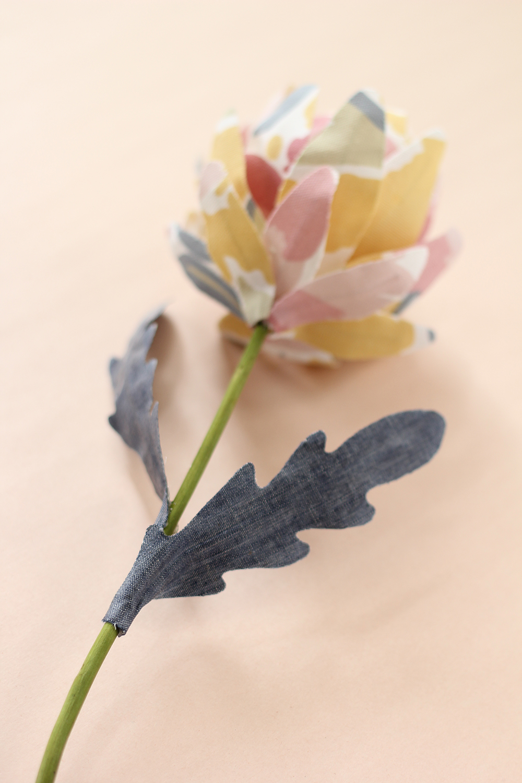 fabric-flower
