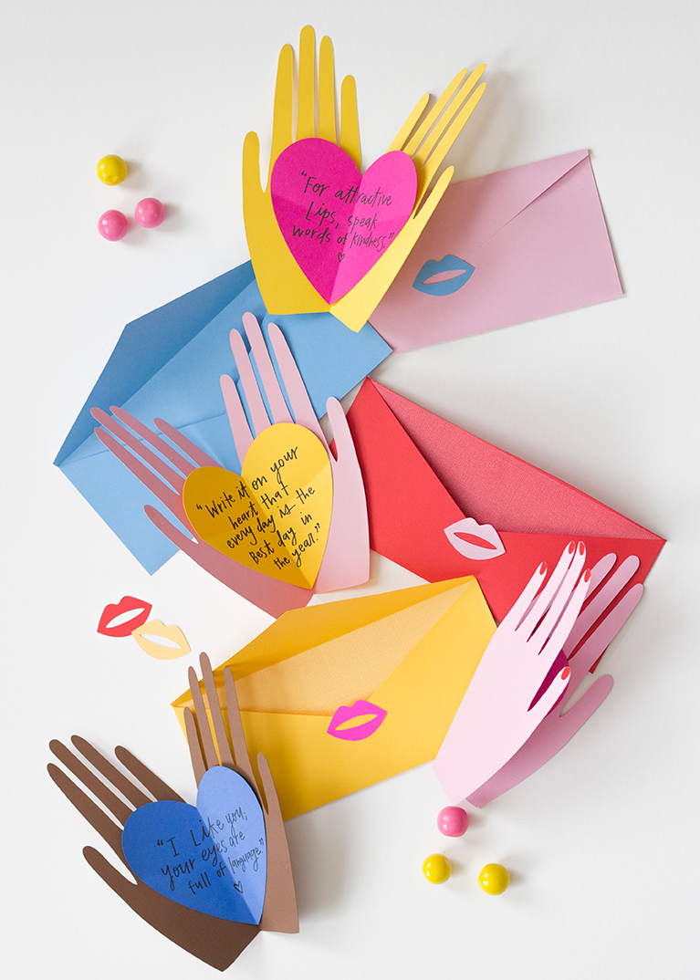 hands holding a heart mothers day card holding hearts pop up valentines the house that 8101