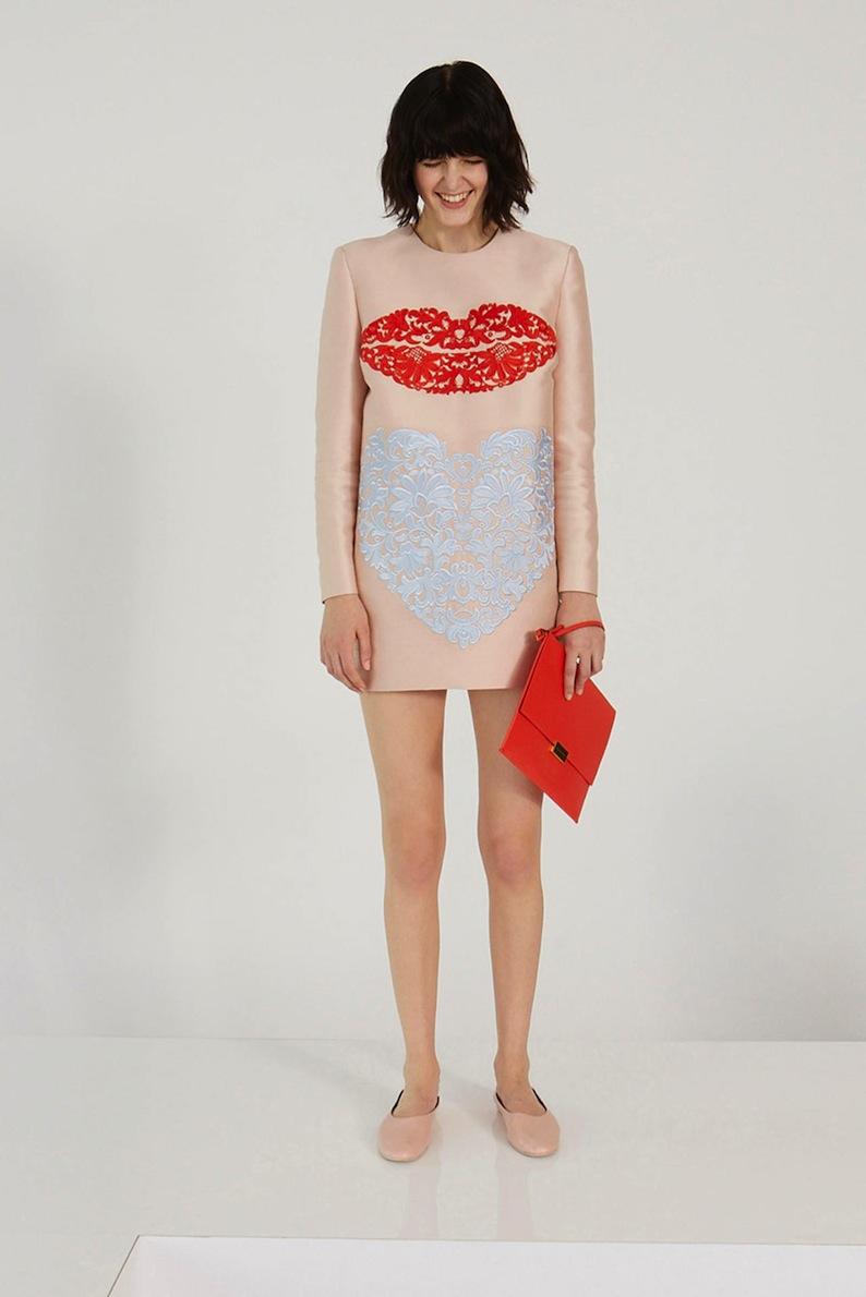 Stella McCartney lips dress