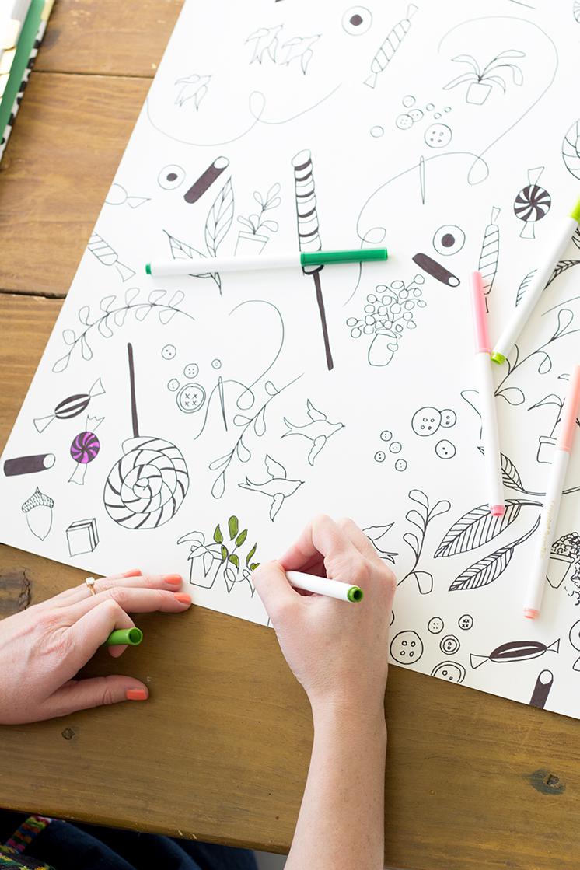 Creativebug's Daily Drawing Challenge with Pam Garrison