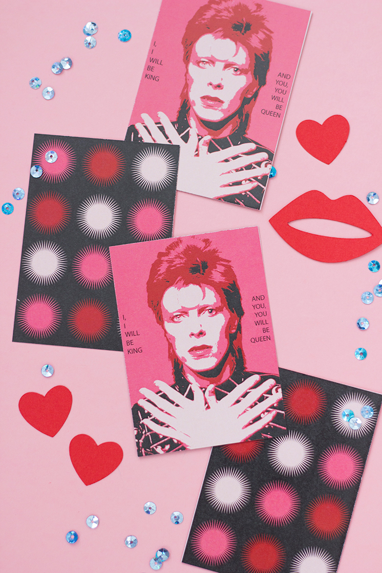 cool free valentines david bowie