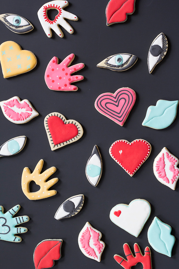Valentine's Day party cookies
