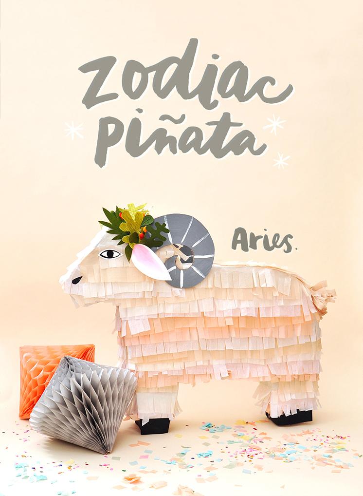 Zodiac pinatas