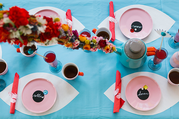 eyeball placemats