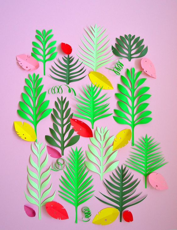 cut-out-paper-plants