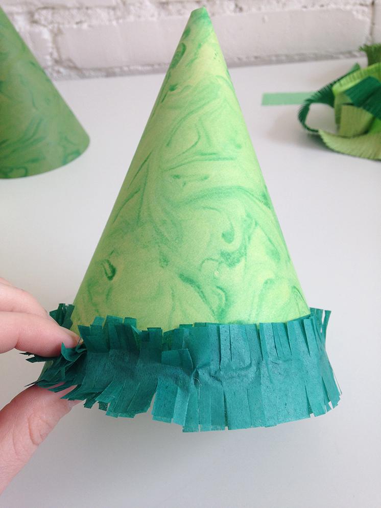green-marbling