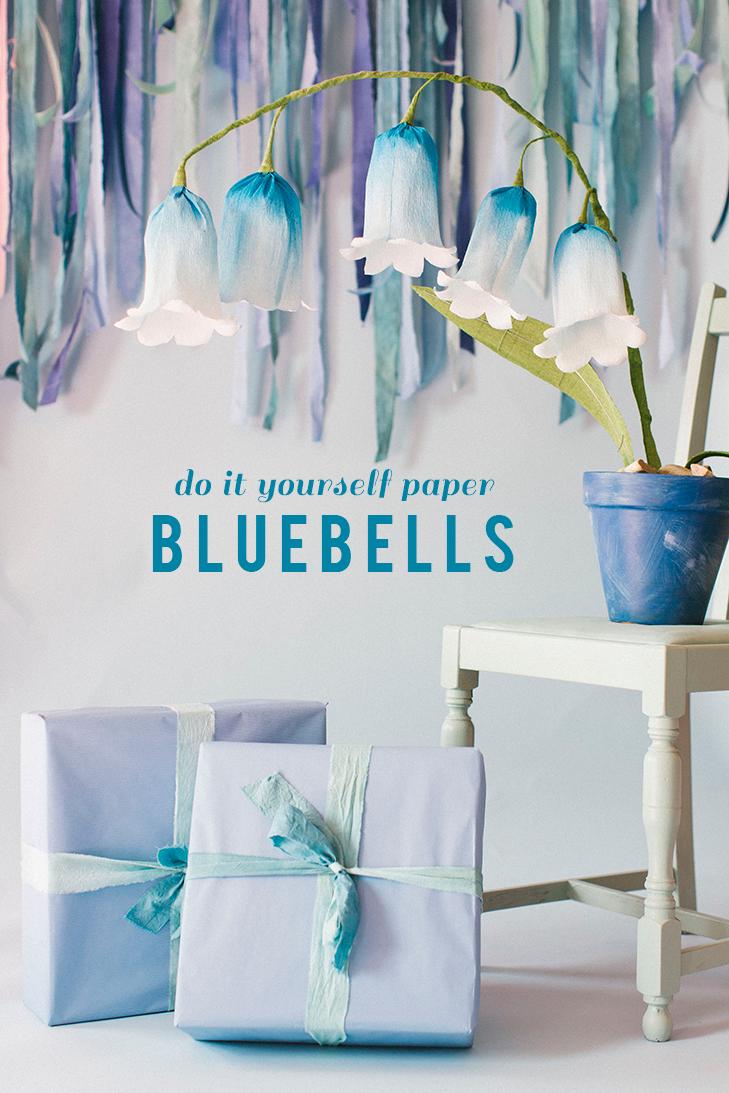 Paper bluebells