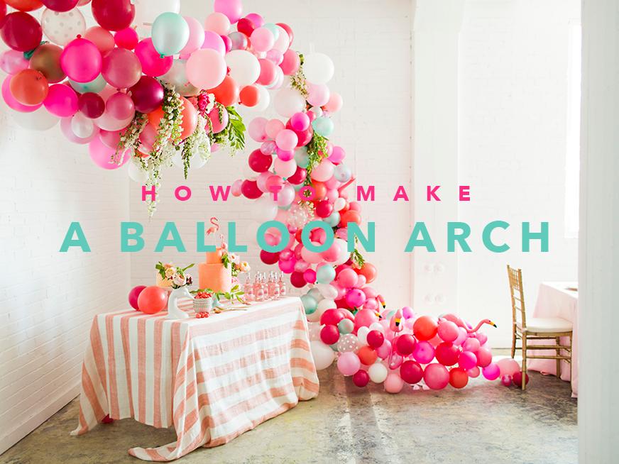 How To Make A Balloon Arch Video Reader Photos