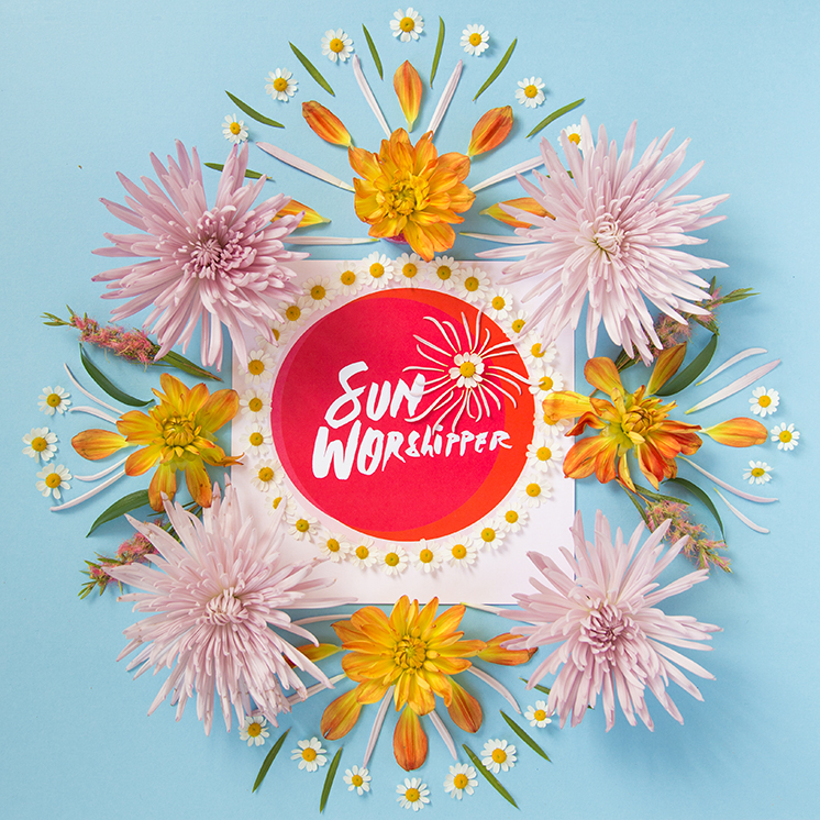 Sun Worshipper print by Samantha Hahn for The House That Lars Built