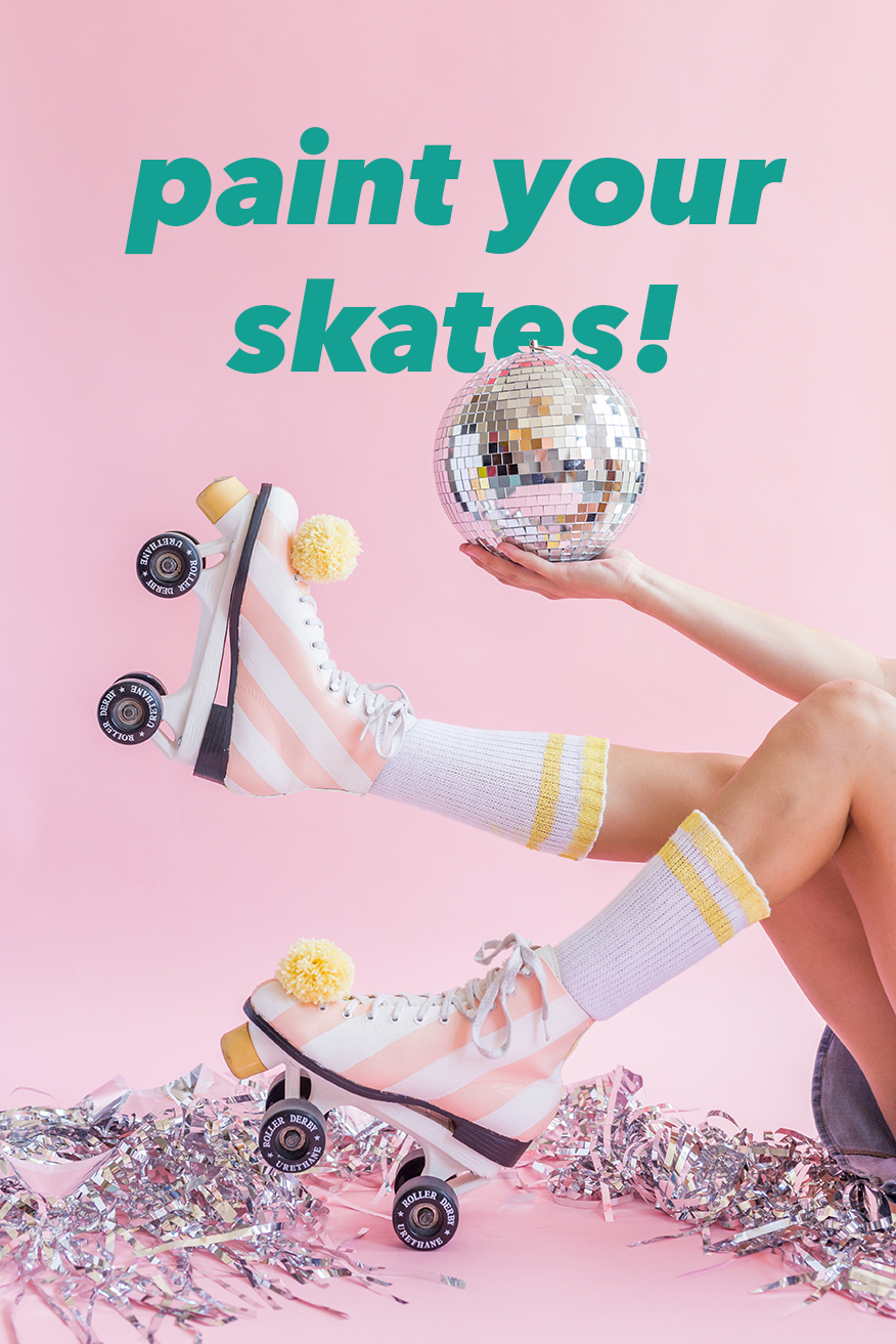 Paint your roller skates