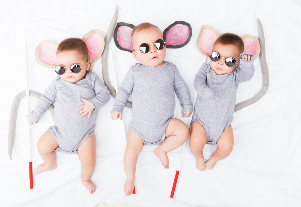3 blind mice diy costume for kids