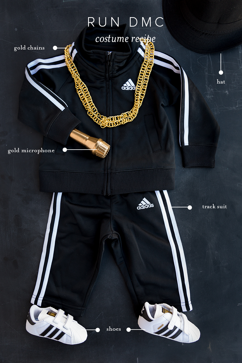 Run DMC baby costume