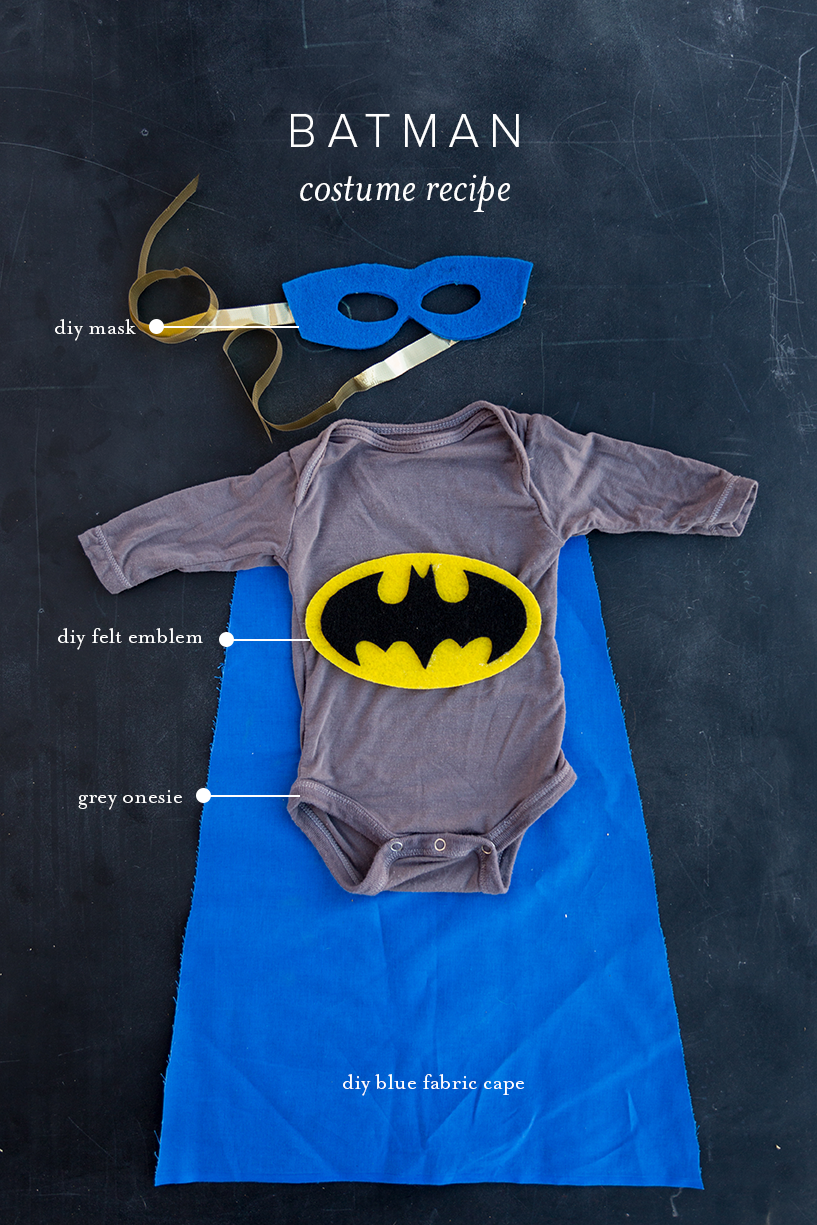 cute costume for baby batman
