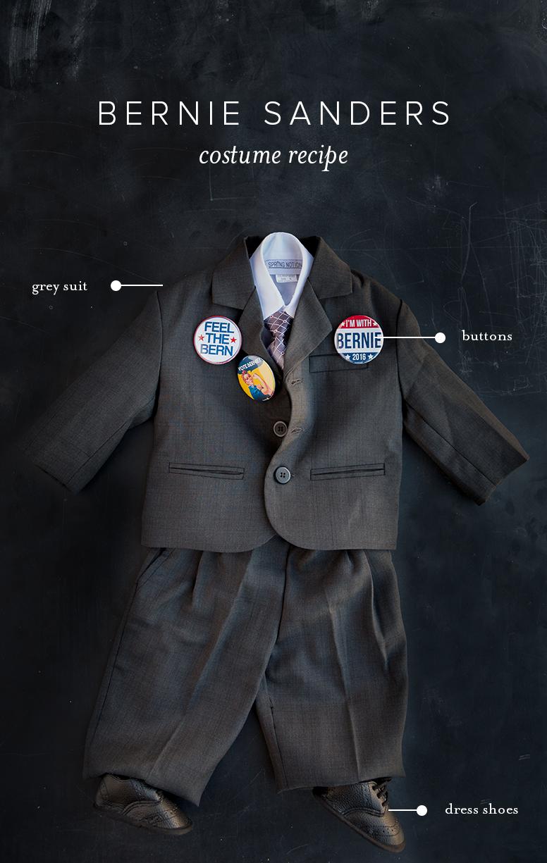 Bernie Sanders baby costume