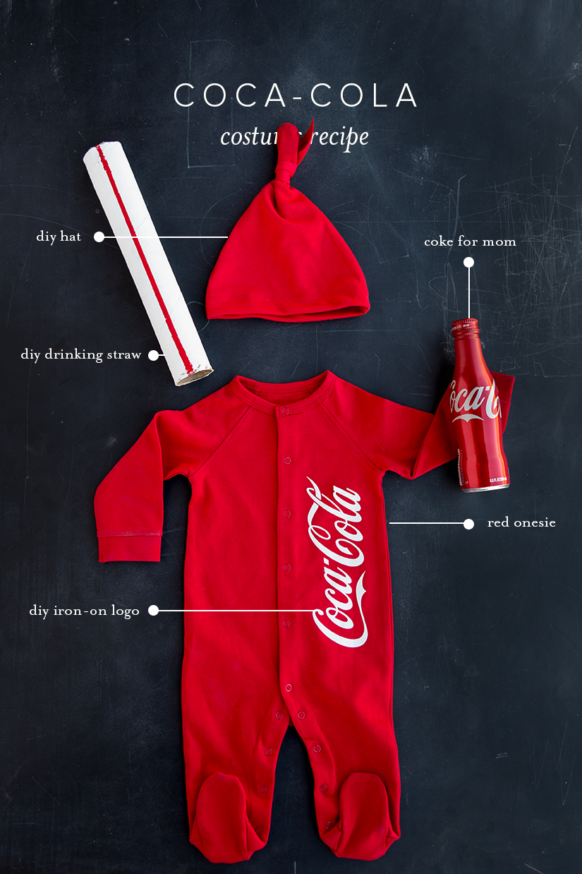 cute costume for baby coke bottle