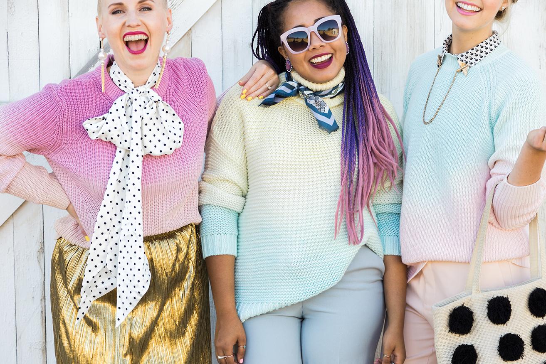 dip dye sweater tutorial