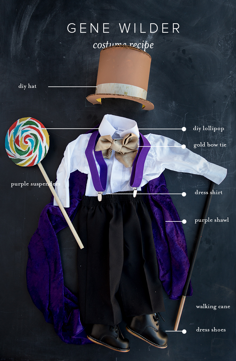 Gene Wilder baby costume Willy Wonka