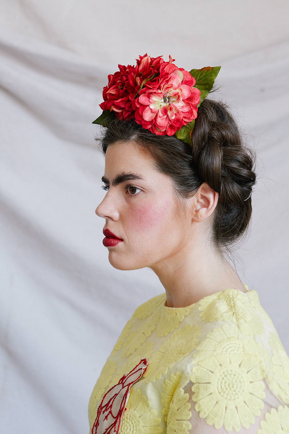 Diy Frida Kahlo Beauty Tutorial Video The House That