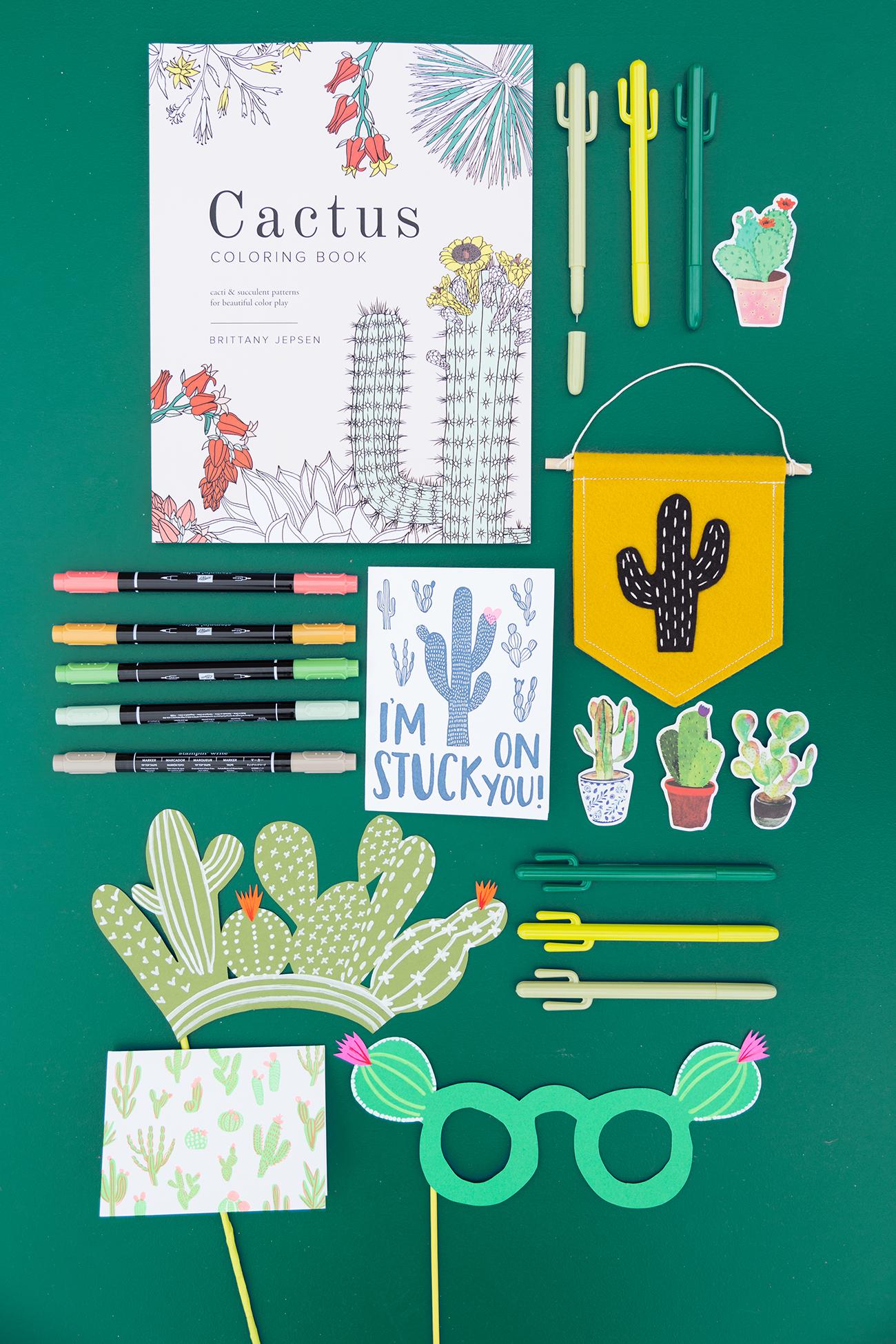 Cactus giveaways
