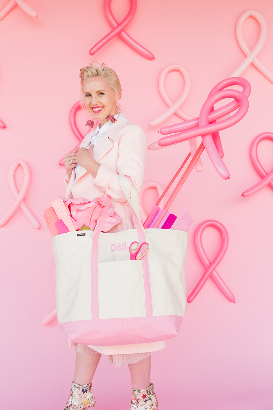 Land's End Pink Thread for Breast Cancer Awareness with Brittany Jepsen of The House That Lars Built