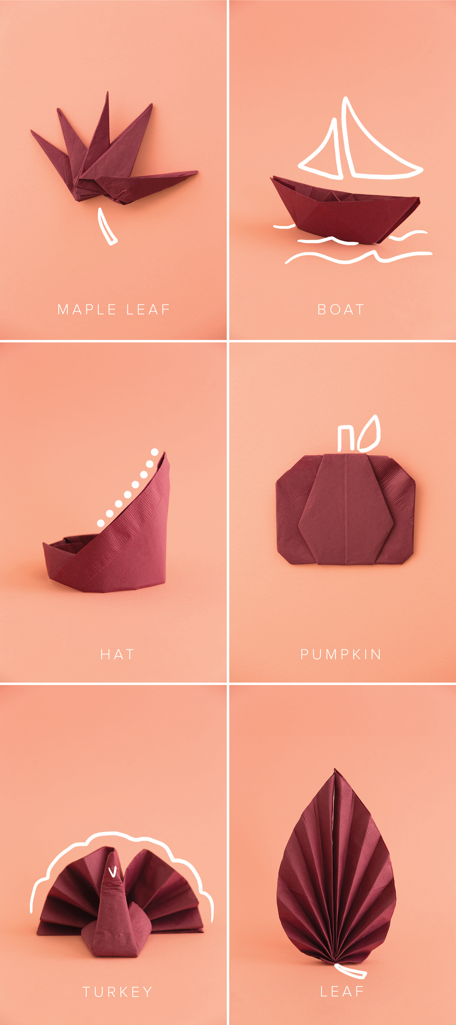 fall-napkins-with-illustrations