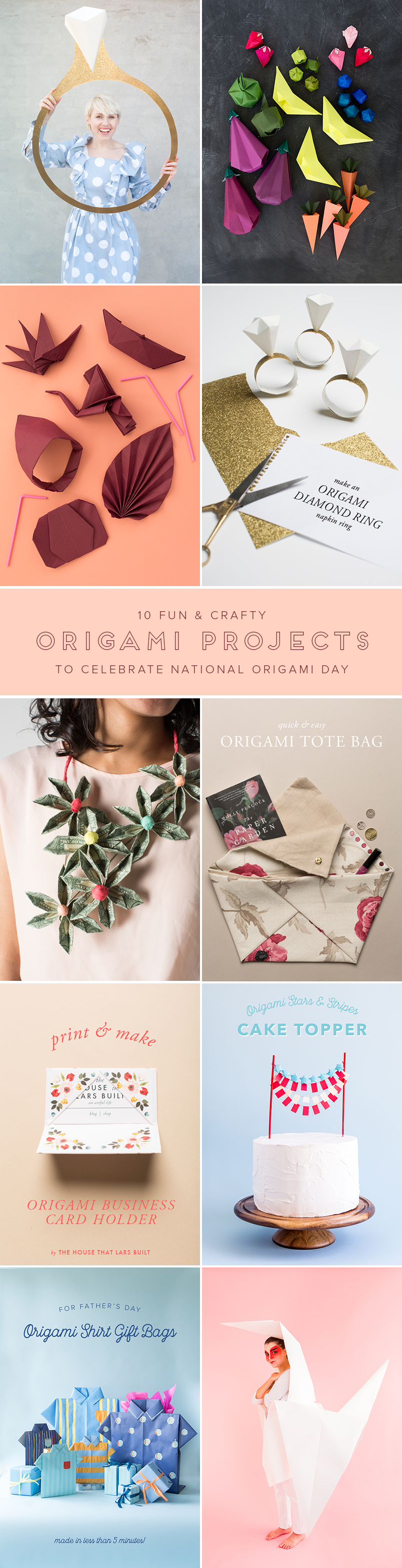 Top 10 Origami Projects for Beginners | 3130x804
