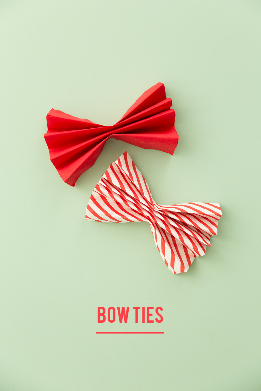 How To Fold A Bow Tie With A Napkin The House That Lars Built