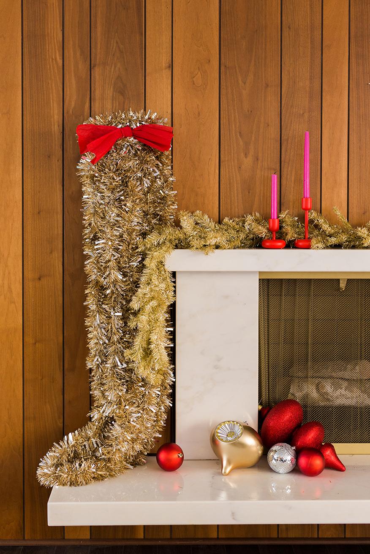 DIY Oversized Stockings
