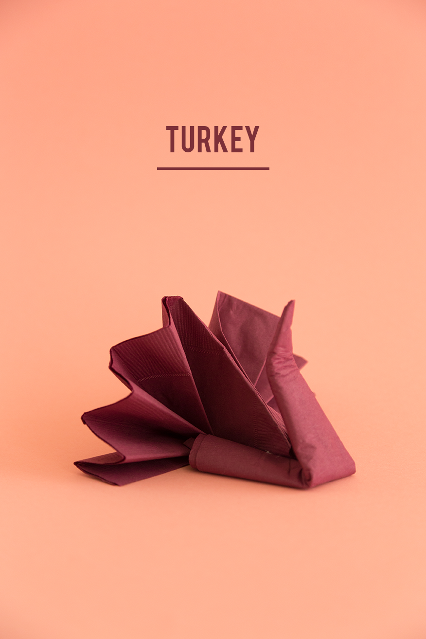 Guide To Napkin Folding For Thanksgiving The House That