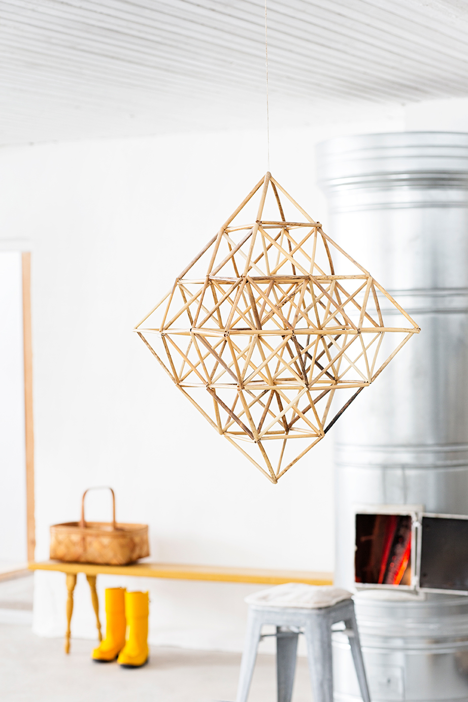 Himmeli: geometric home decor past and present