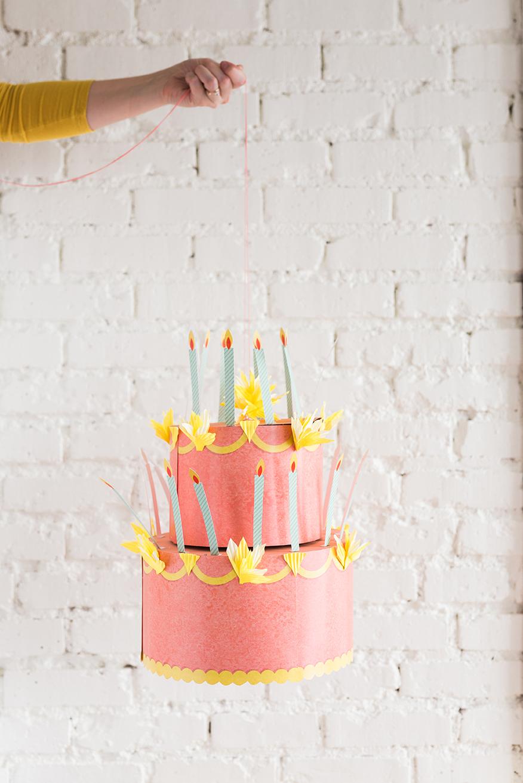 Birthday Cake Chandelier