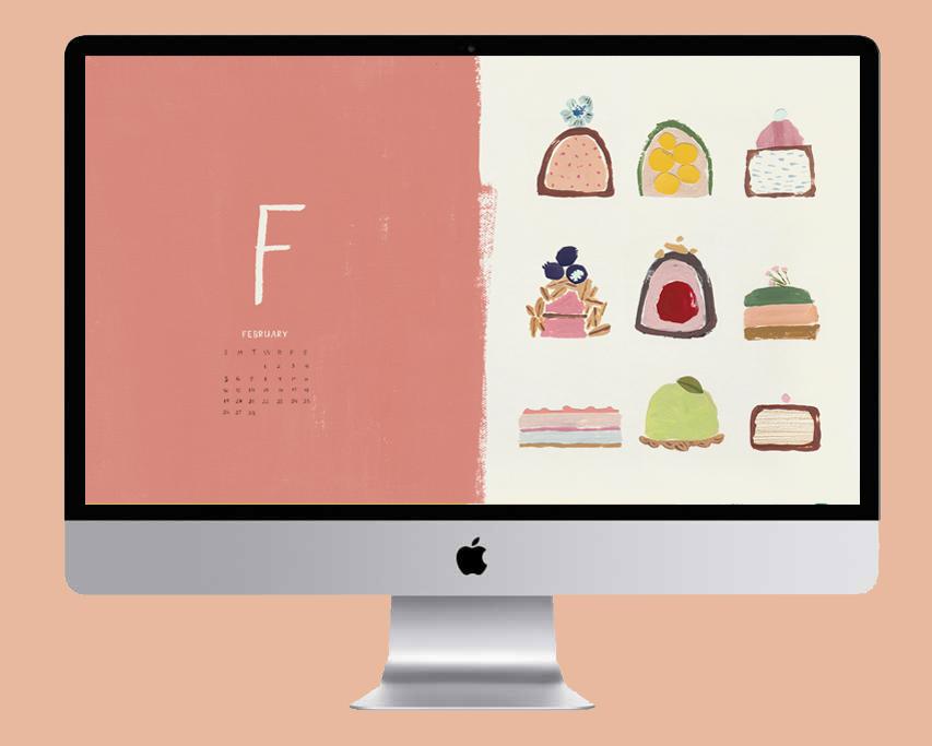 February 2017 desktop wallpaper