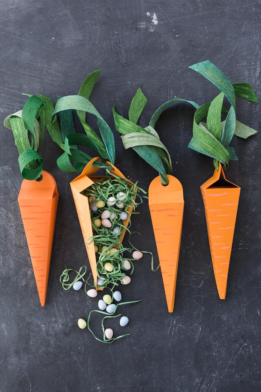 Paper Carrot Treat Box