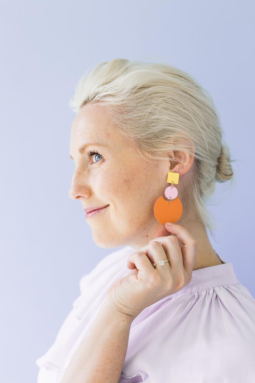 DIY Paper Earring