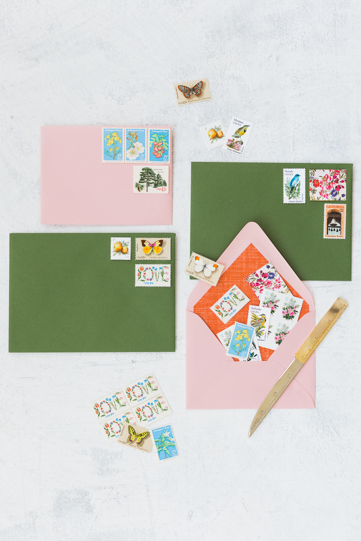 Bridal Tip: Vintage Stamps