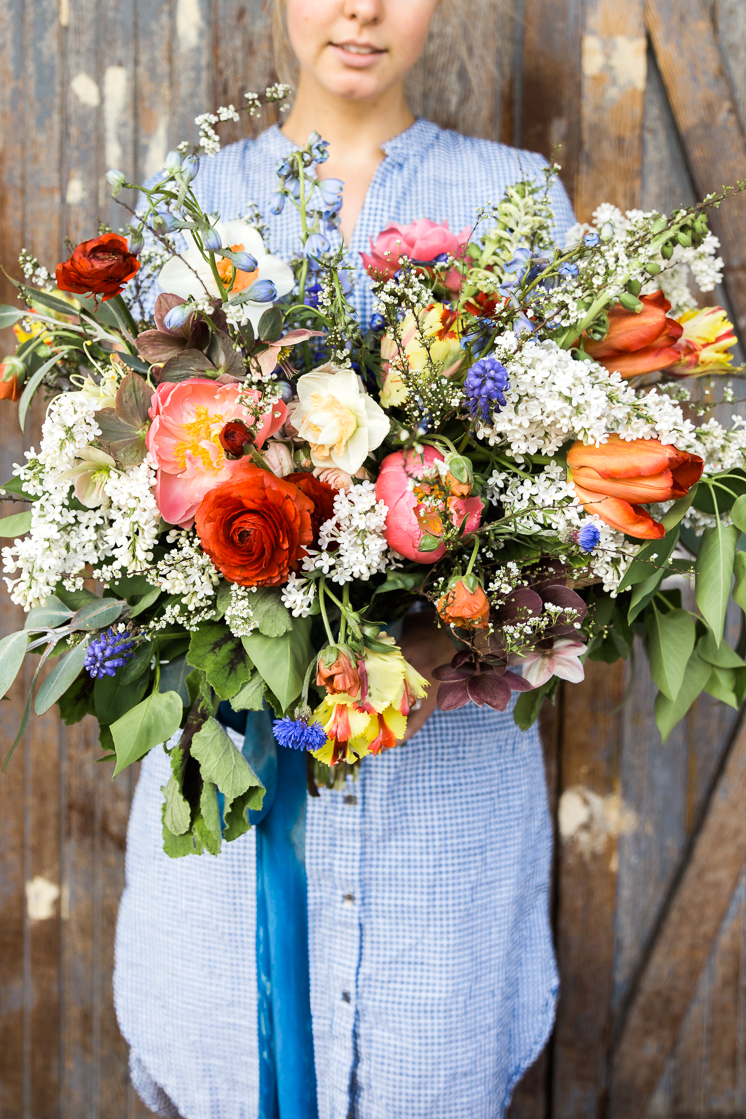 How to Make your own Bridal Bouquet - The House That Lars