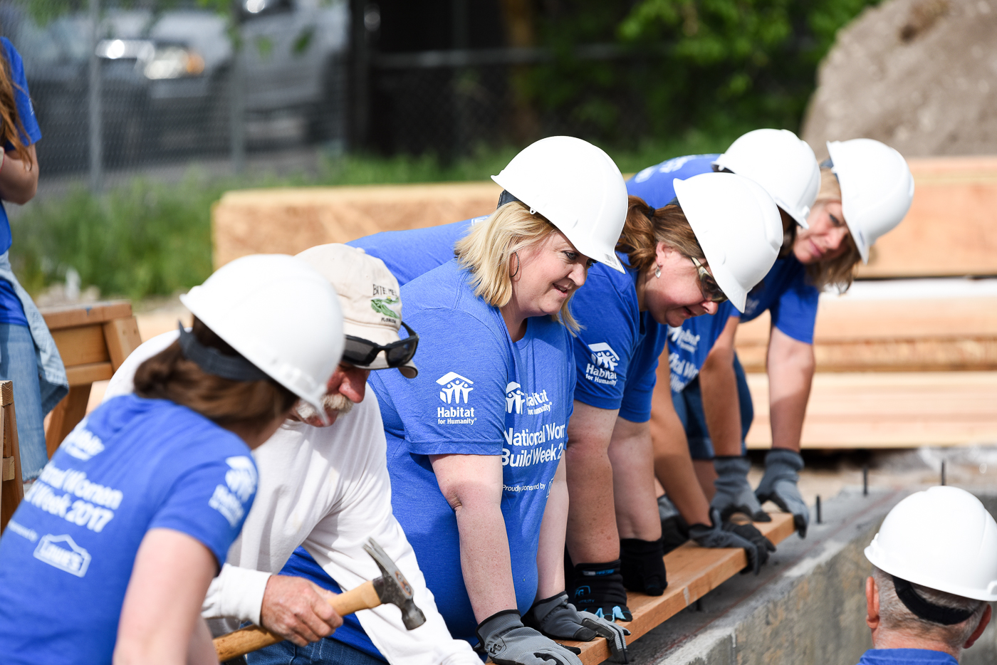Habitat for Humanity with Lowe's