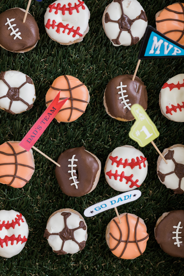 Father's Day Sports Donuts