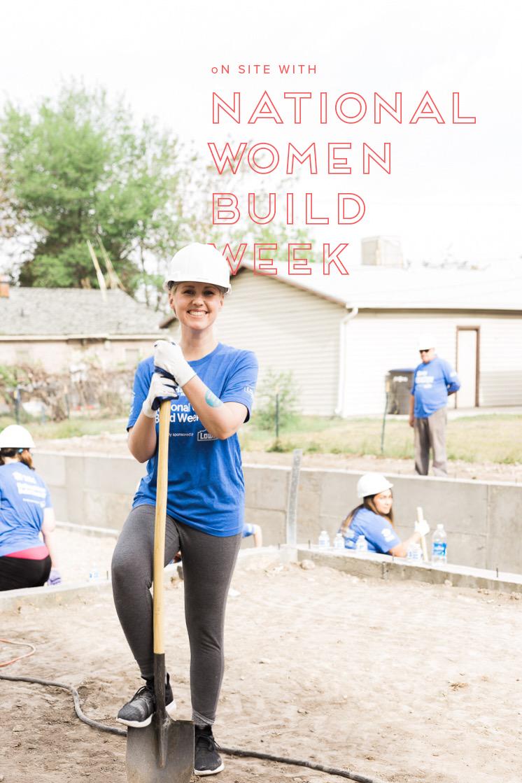 National Women Build Week