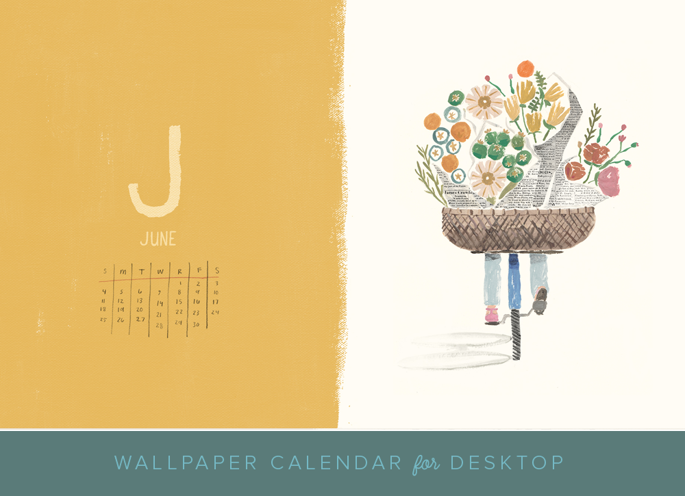 June 2017 Desktop Calendar