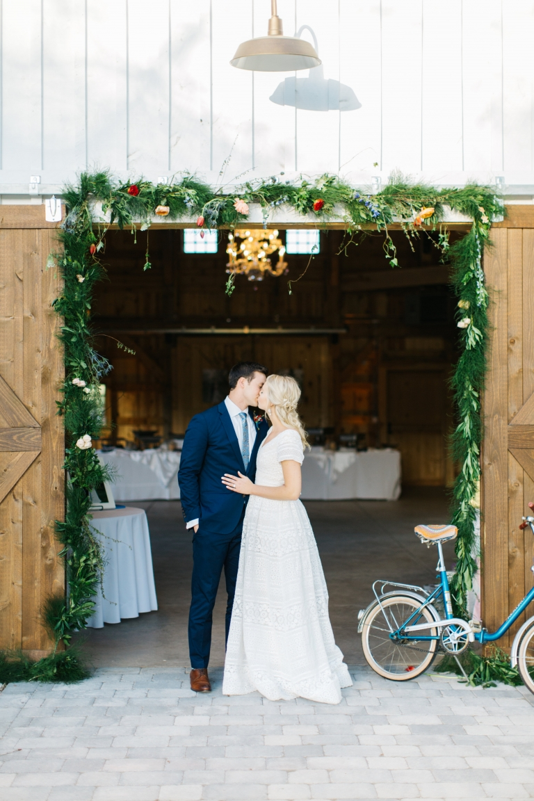 Scandinavian Garden Wedding
