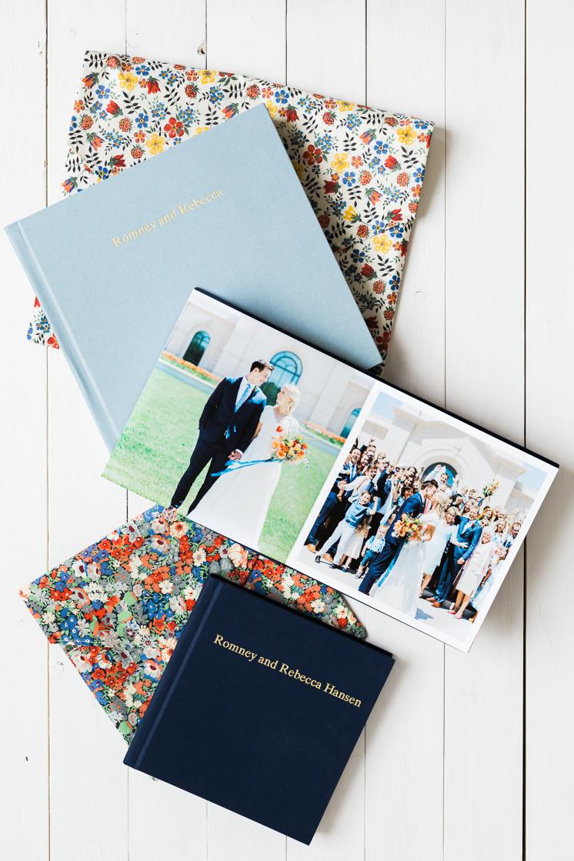 Artifact Uprising wedding books