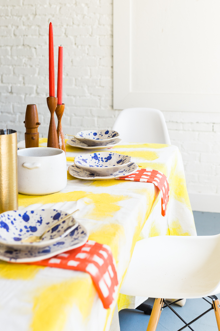 bauhaus inspired tablescape