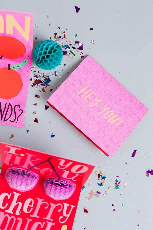 honeycomb pop up cards
